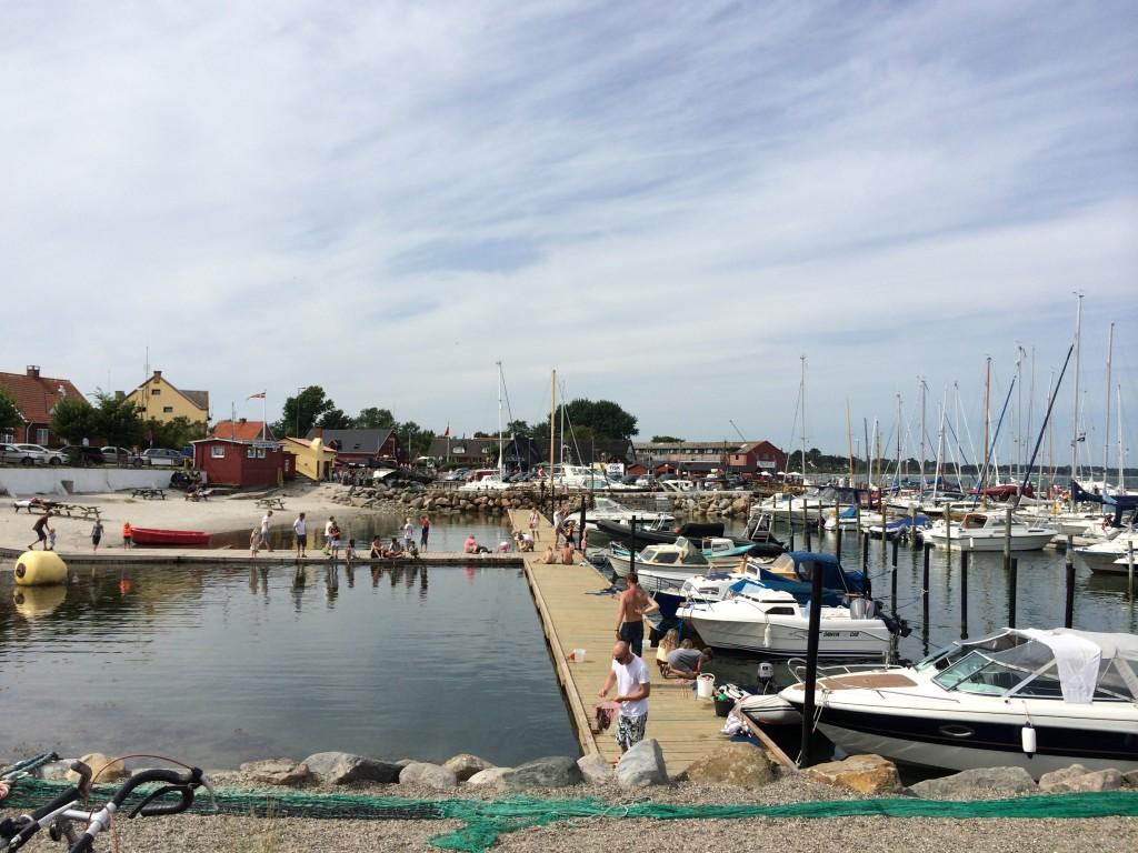 Bådhavnen i Ballen Samsø