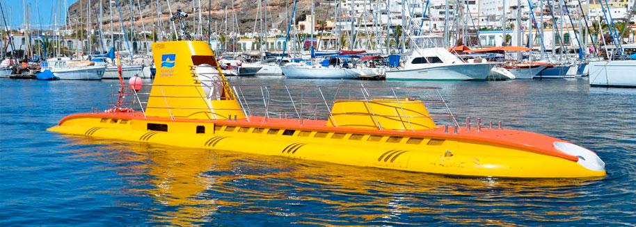 Submarine Puerto De morgan, Gran Canaria