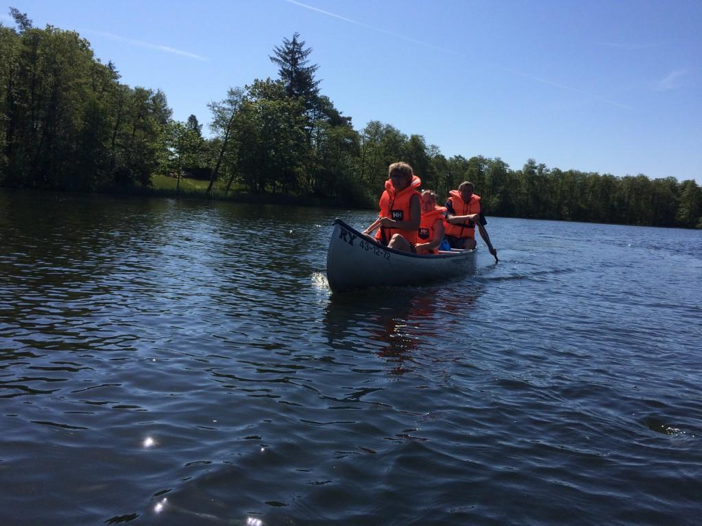Kano på Silkeborg søerne
