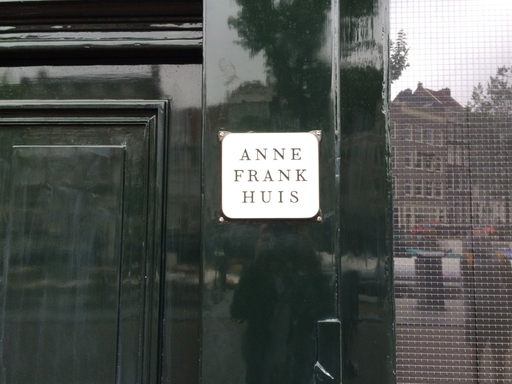 Anne Franks hus Amsterdam