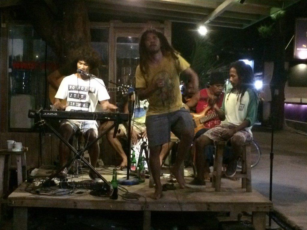 Live musik Gili islands
