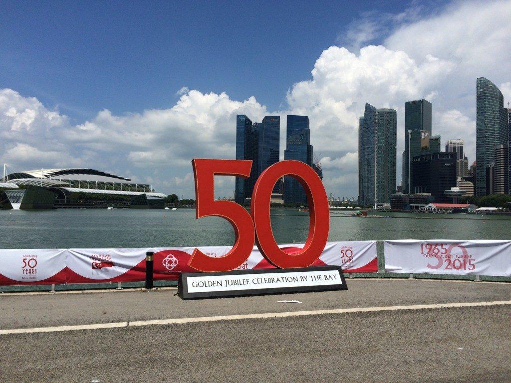 Singapores 50 års dag