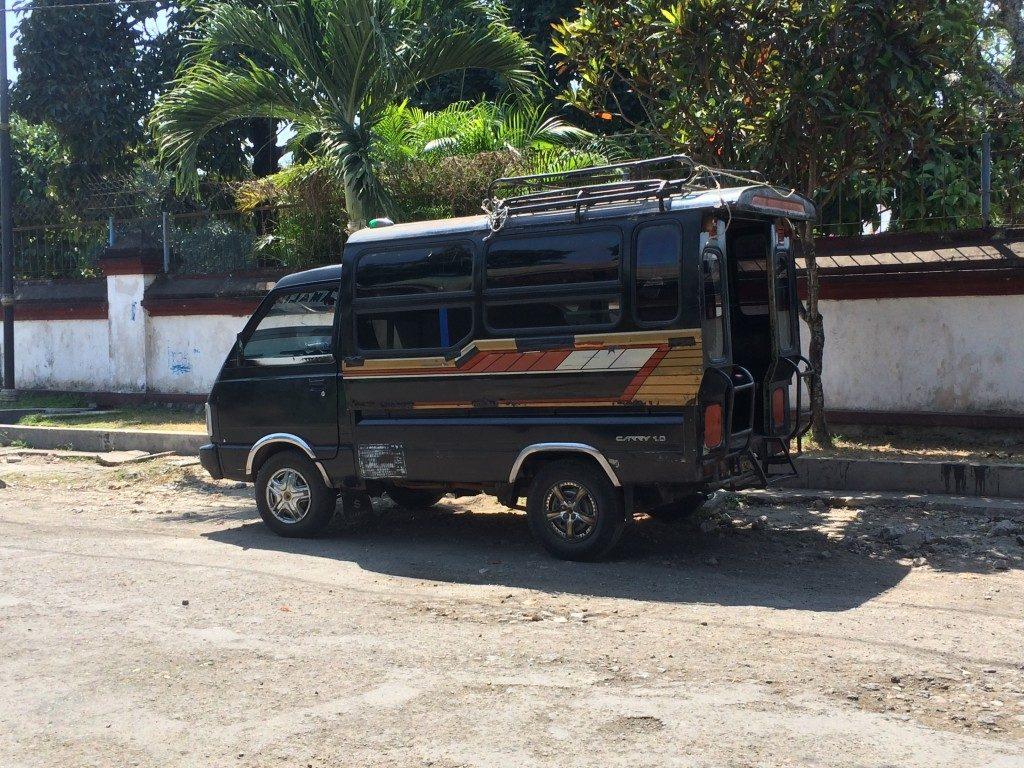 Bemo. taxa Lombok
