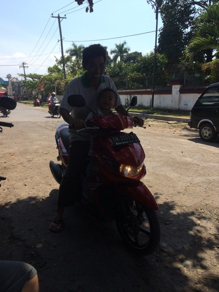 Scooter Lombok