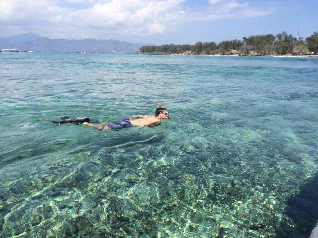 Snorkling Gili