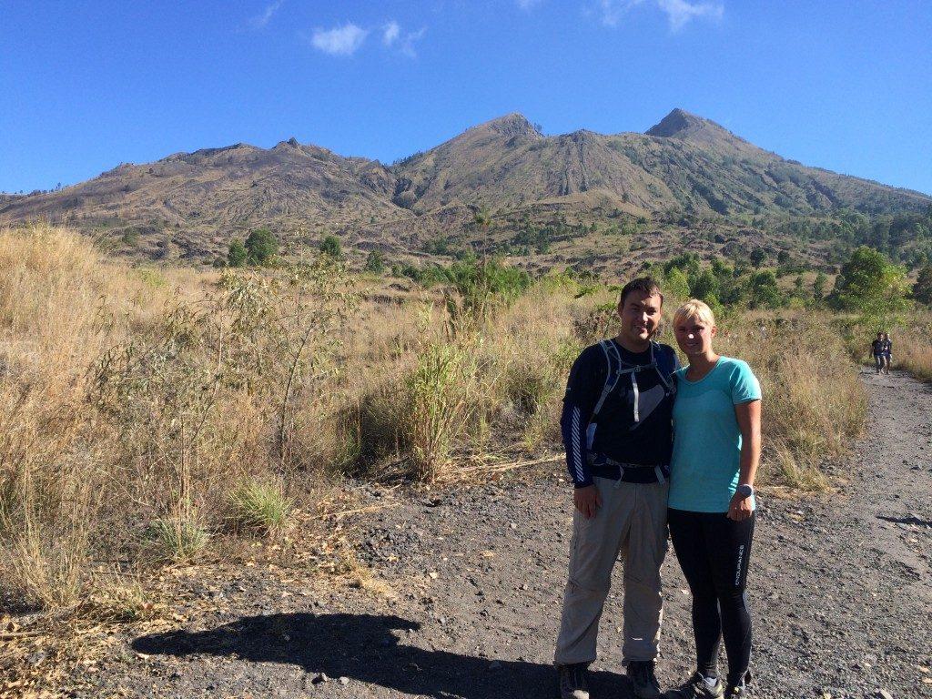 Batur vulkan trekking Bali