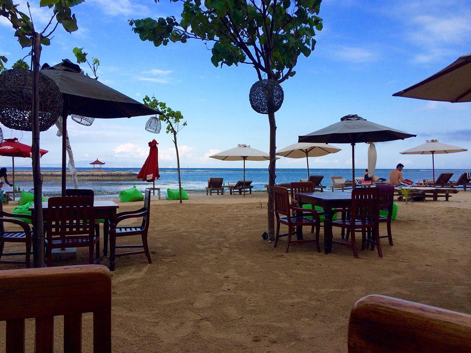 Sanur strand Bali