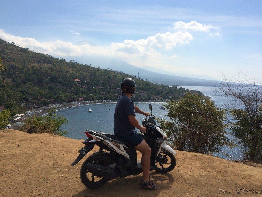 Bali på scooter