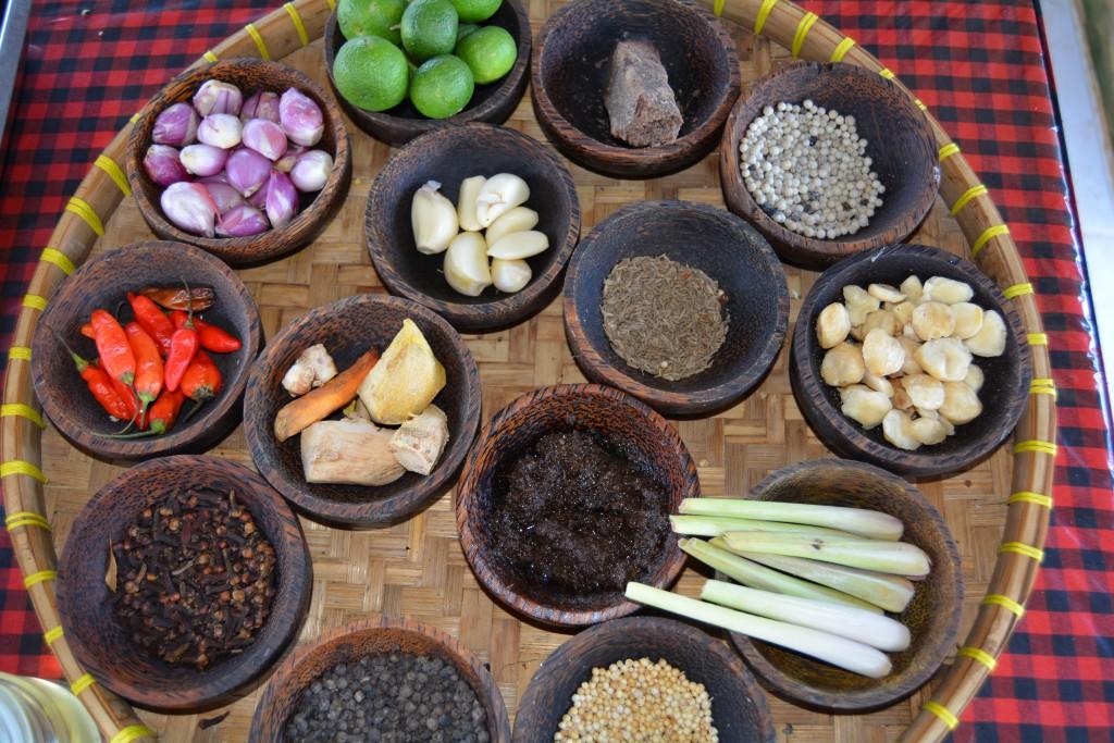 krydderier Bali