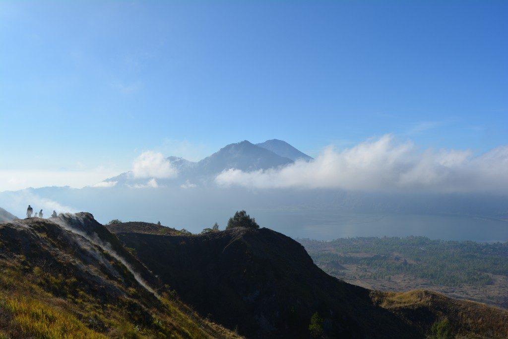 Hiking vulkanen Batur på Bali