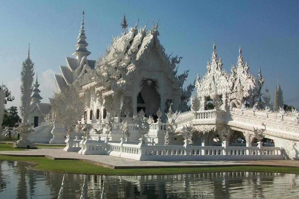 Den hvide tempel Thailand