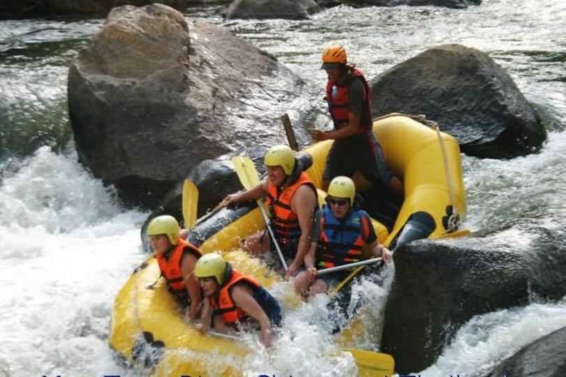 River rafting i Chiang Mai Thailand