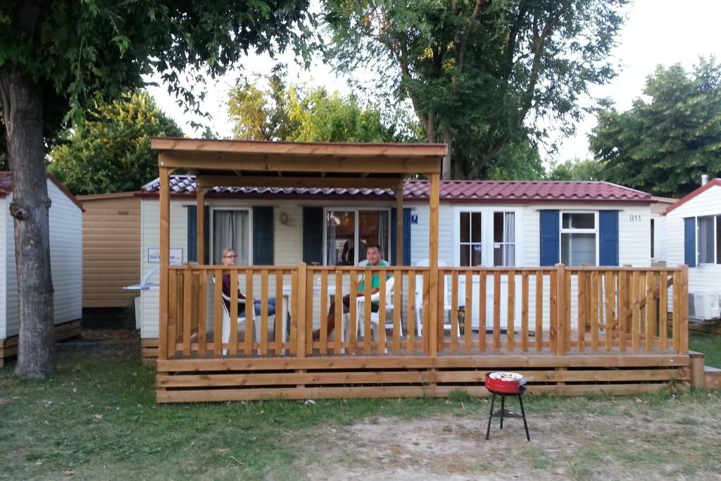 Camping ved Adriaterhavet