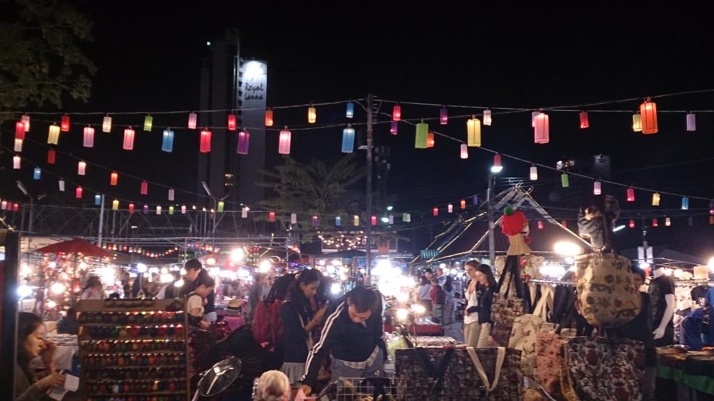 Chiang Mai natmarked  Thailand
