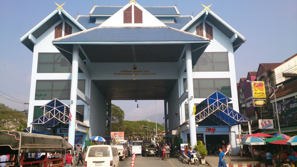 Grænsen til Myanmar
