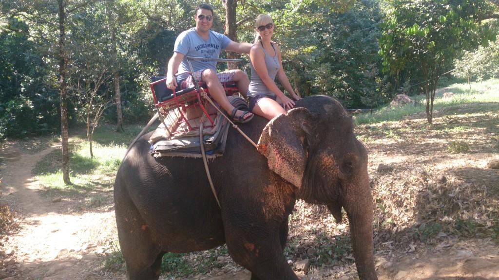 Elefantridning Koh Chang Thailand