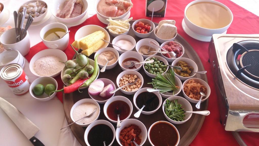 Thailandske krydderier