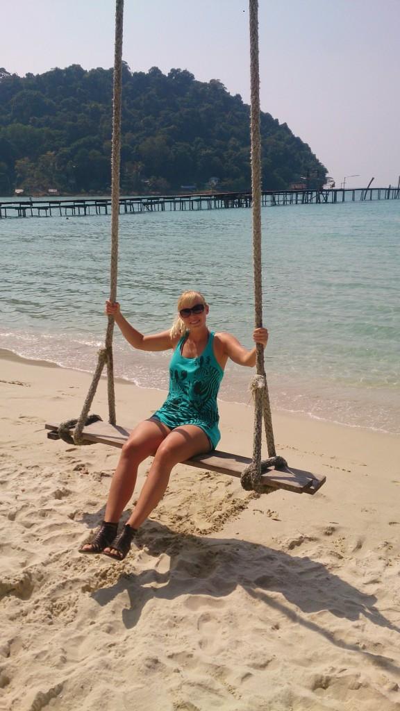 Strande på Koh Kood Thailand