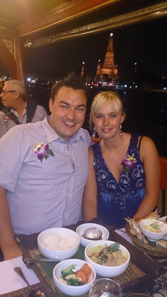 Dinner cruise Bangkok Thailand