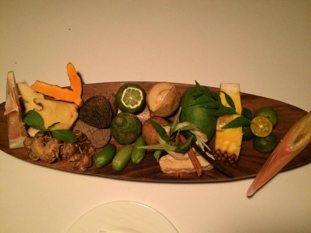 Gourmet på Bali