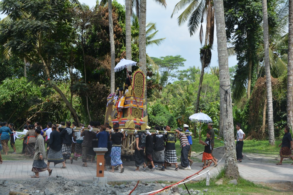 Ceremoni på Bali