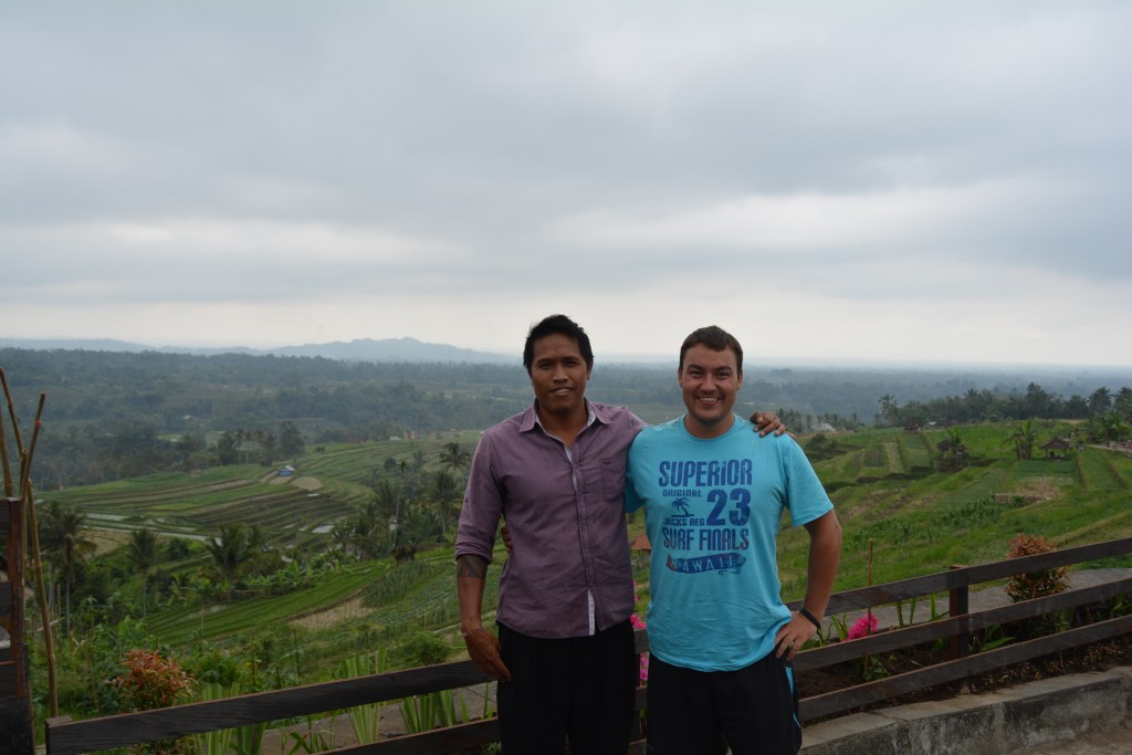 Rundtur på Bali