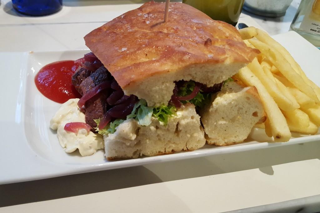 Frokost i Hamborg