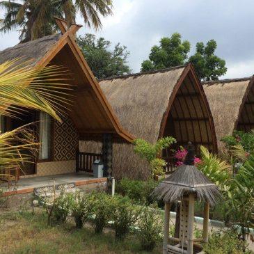 Budget hotel på Gili Air