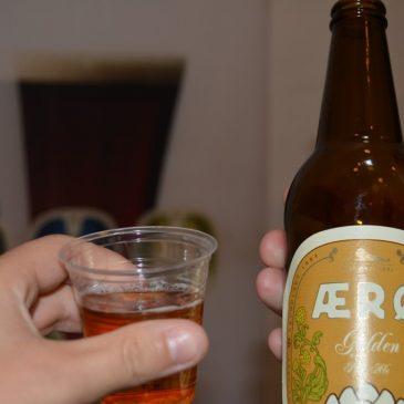 Ølsmagning på Rise bryggeri