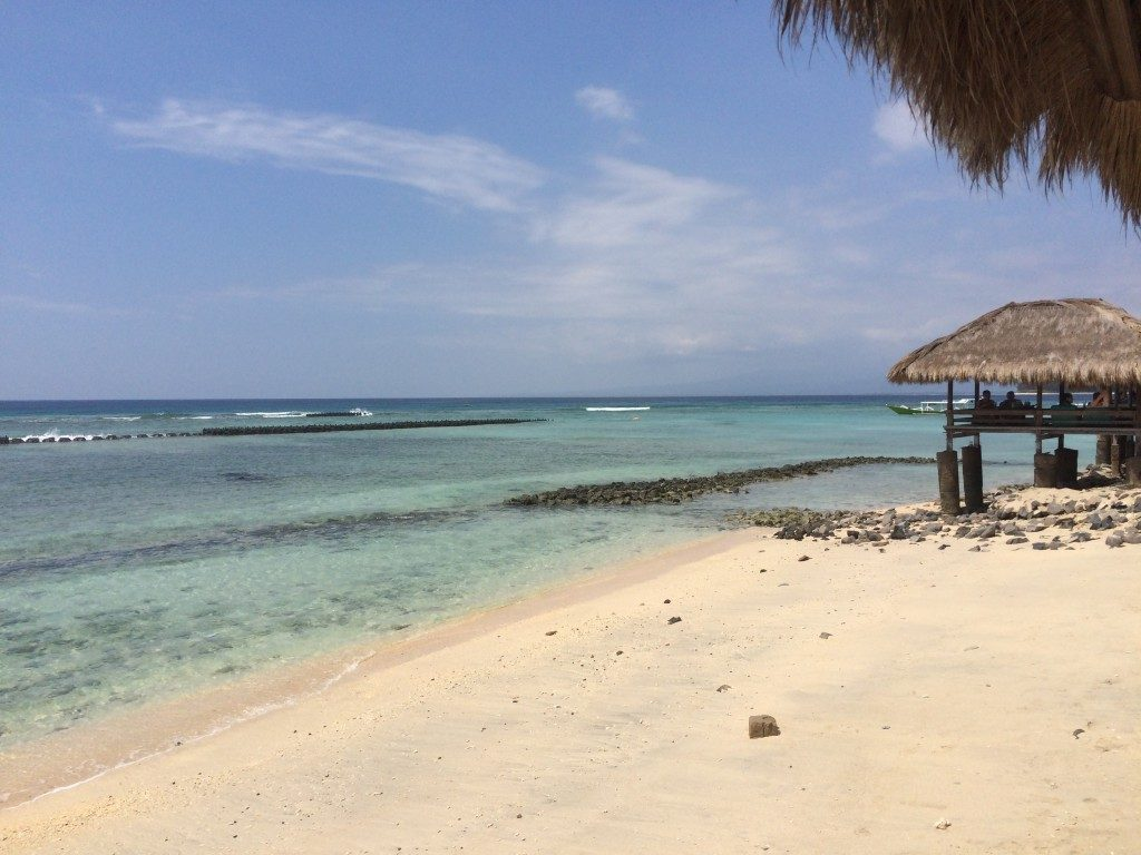 Strande på Gili Islands