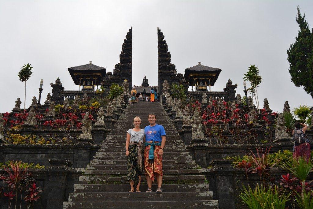 Besakih templet på Bali