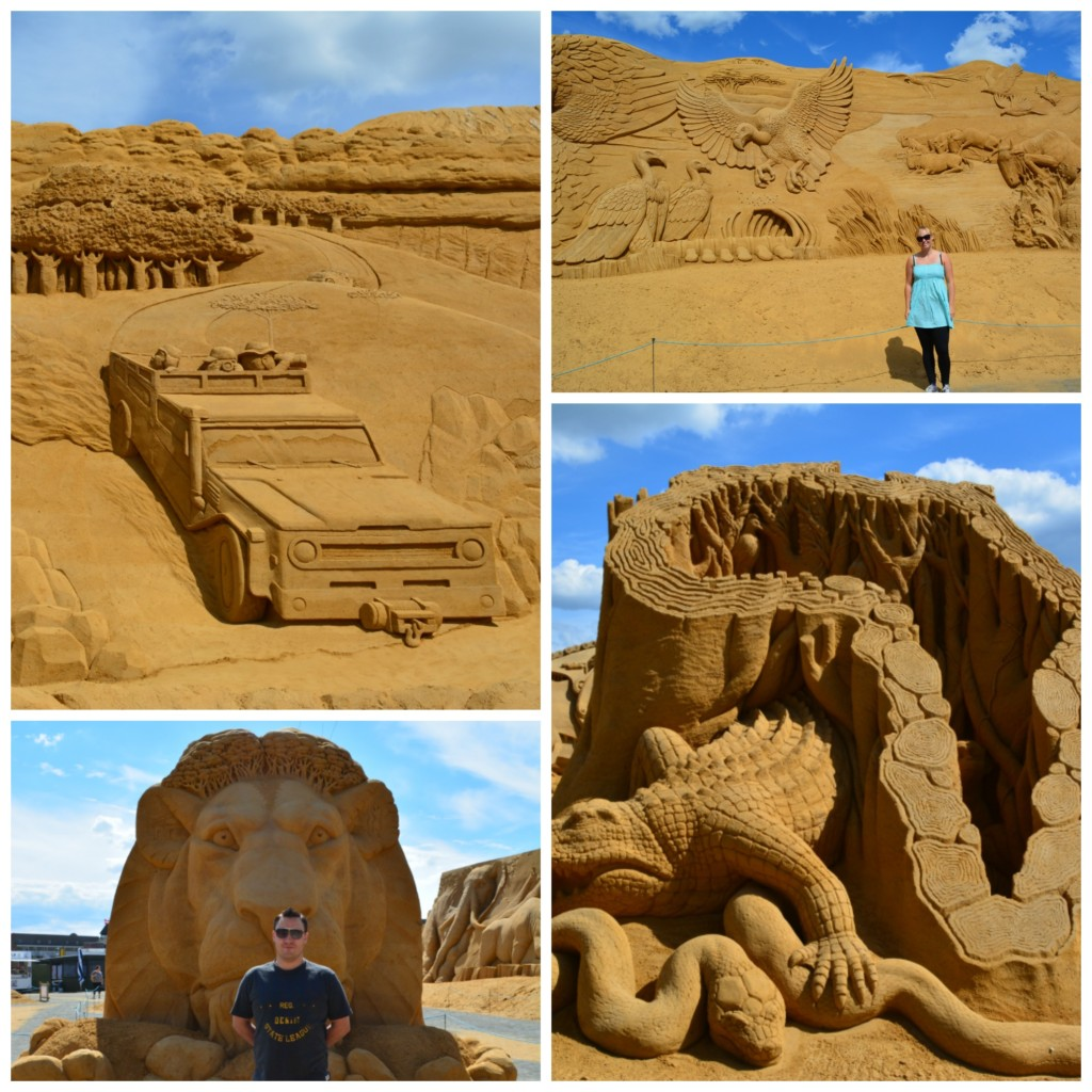 Sandskulptur festival 2016