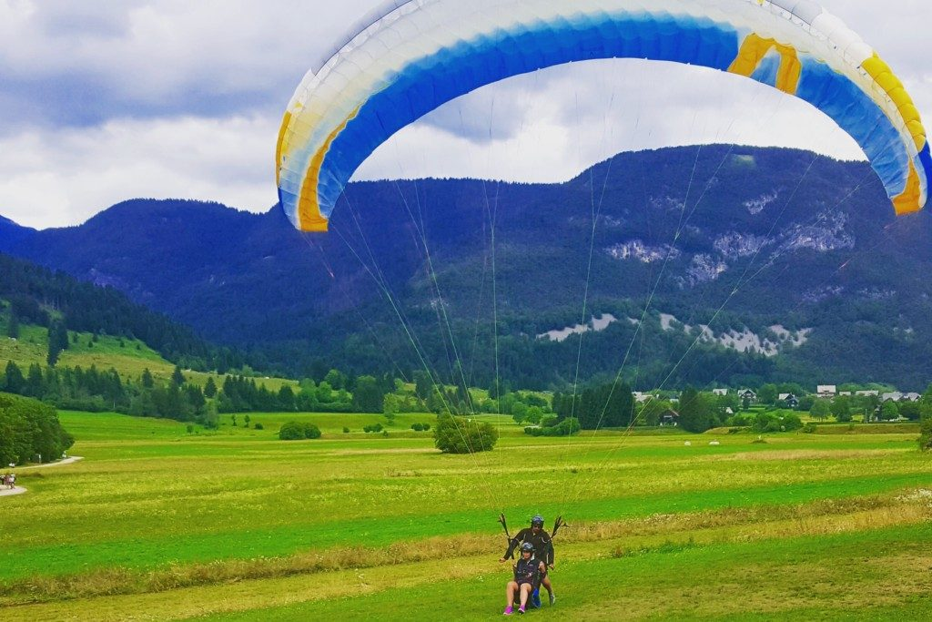 Paragliding Slovenien