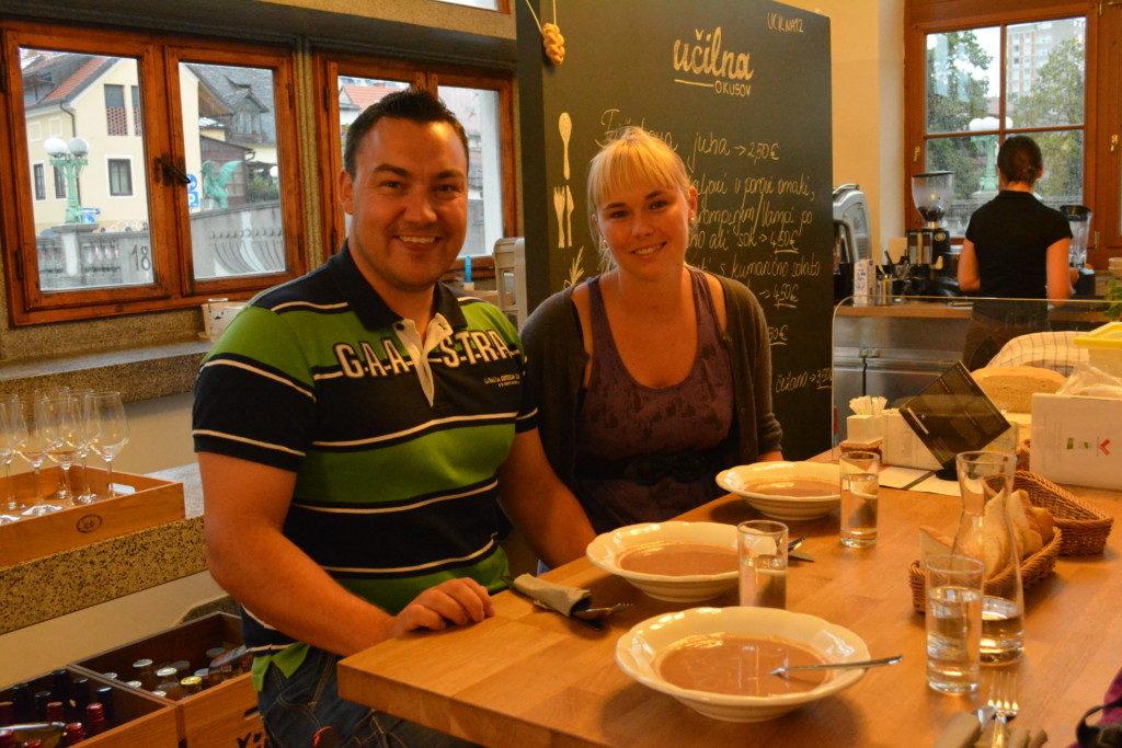 Foodwalk i Ljubljana