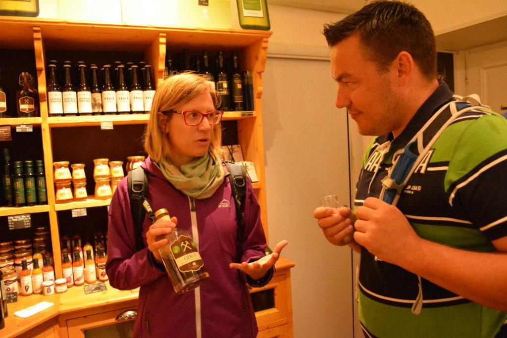 På foodwalk i Ljubljana