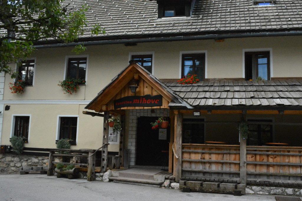 Restaurant Lake Bohinj