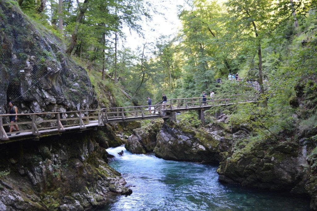 Smuk natur i Slovenien