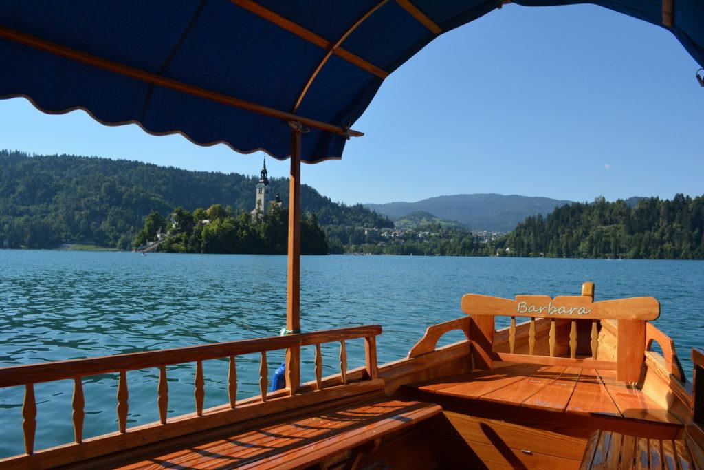 Sejltur på Lake Bled Slovenien