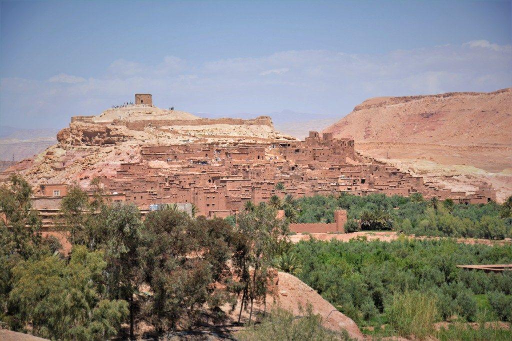 Berber landsby Marokko