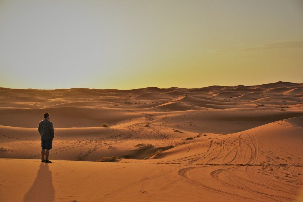 Saharas ørken Marokko