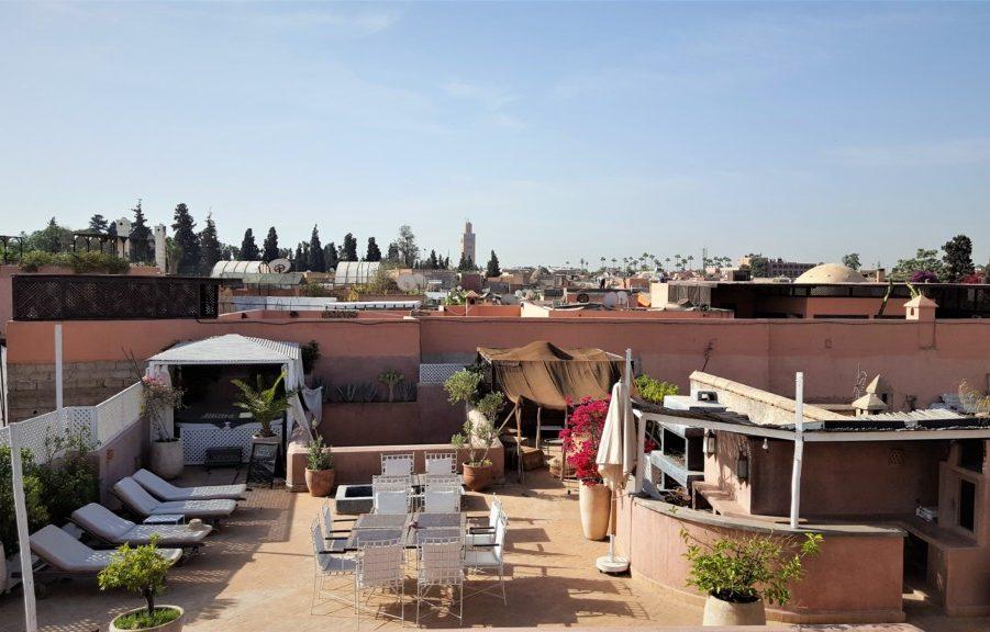 Tagterrasse Marrakech