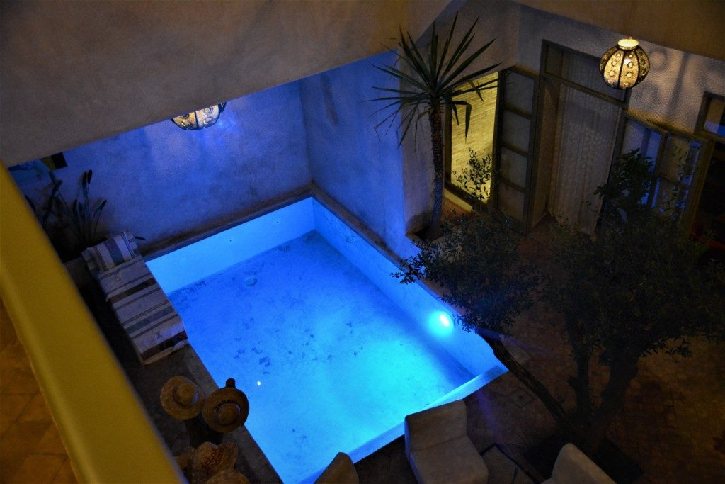 Marrokansk paradis- Riad Vendome & spa Marrakesh