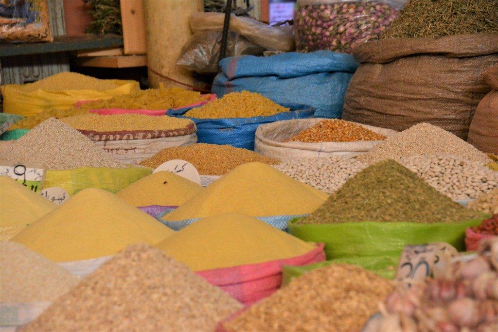 Markeder i Marokko