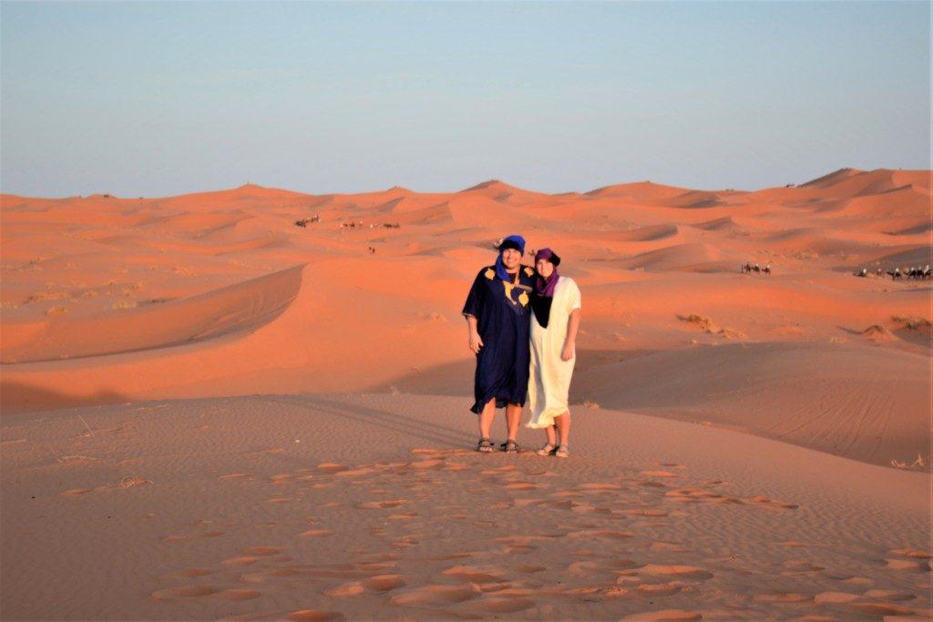 Ørkensafari i Marokko