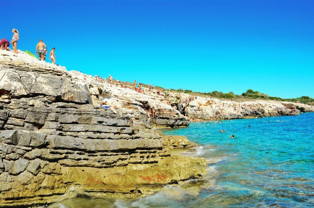 5 strande på Istrien