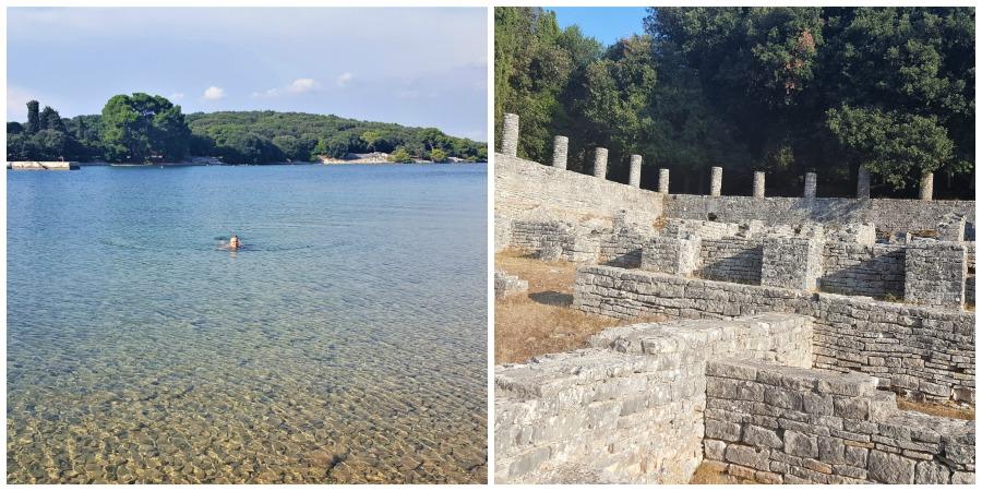 Strande på Istrien