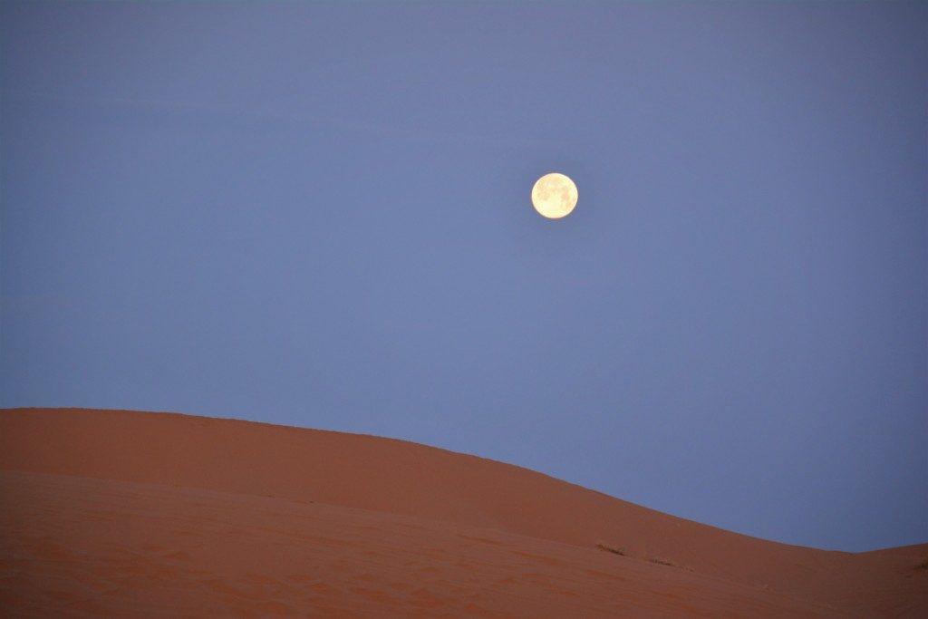 Fuldmåne i Marokko