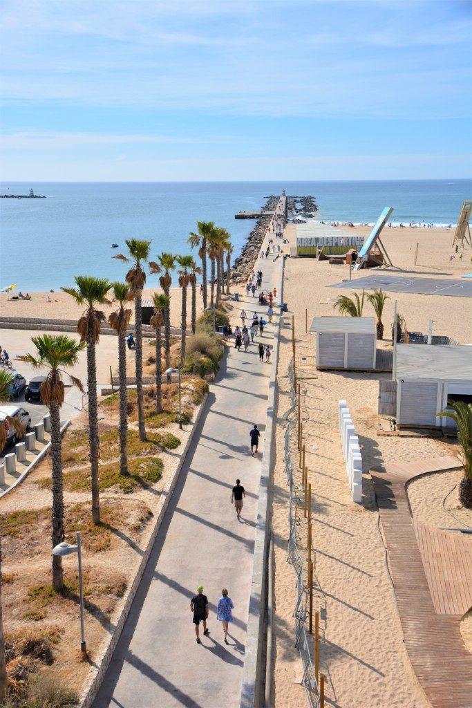 Portimão strandpromenade