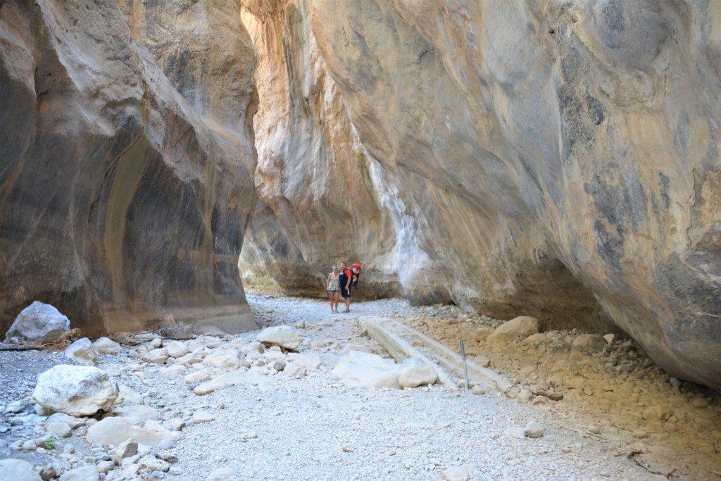 Sarakinas Gorge, ikke for tøsedrenge eller piger