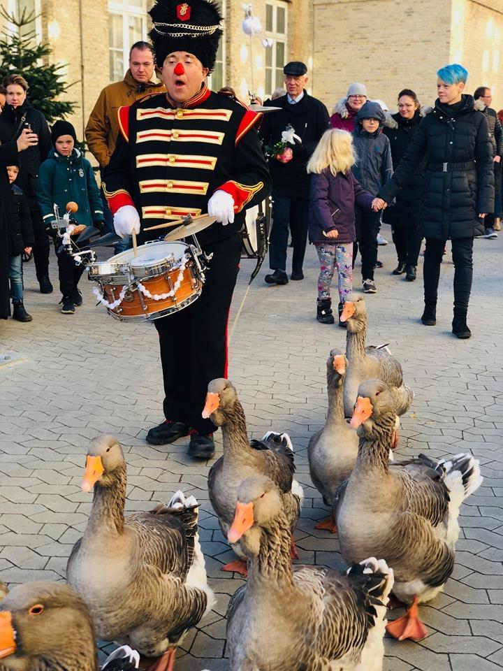 Jul i fængslet i Horsens